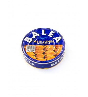 """Mejillones grandes para disfrutar de un buen aperitivo de la marca """"Balea"""""""