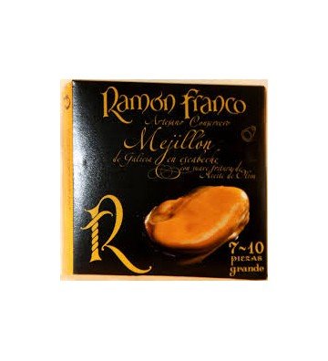 Gran sabor en estos mejillones 7/10 de las Rías Gallegas, grandes y exquisitos de Ramon Franco