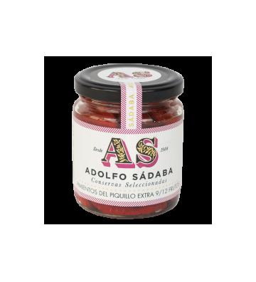 Exquisitos pimientos de piquillo extra 9/12 frutos de Adolfo Sabada.